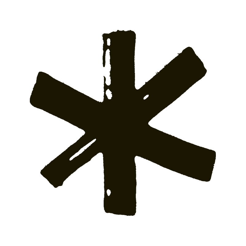 All Purpose asterisk logo