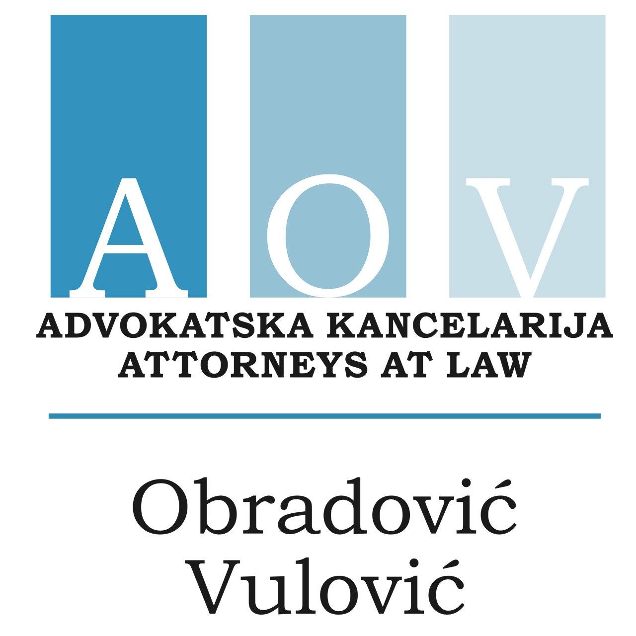 Advokatska Kancelarija Attorneys at Law Obradović Vulović