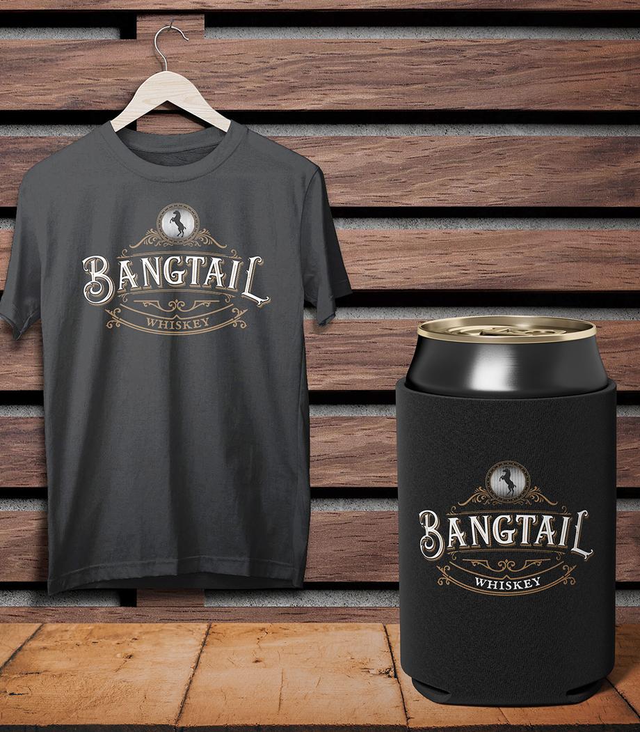 Bangtail shirt + koozie combo