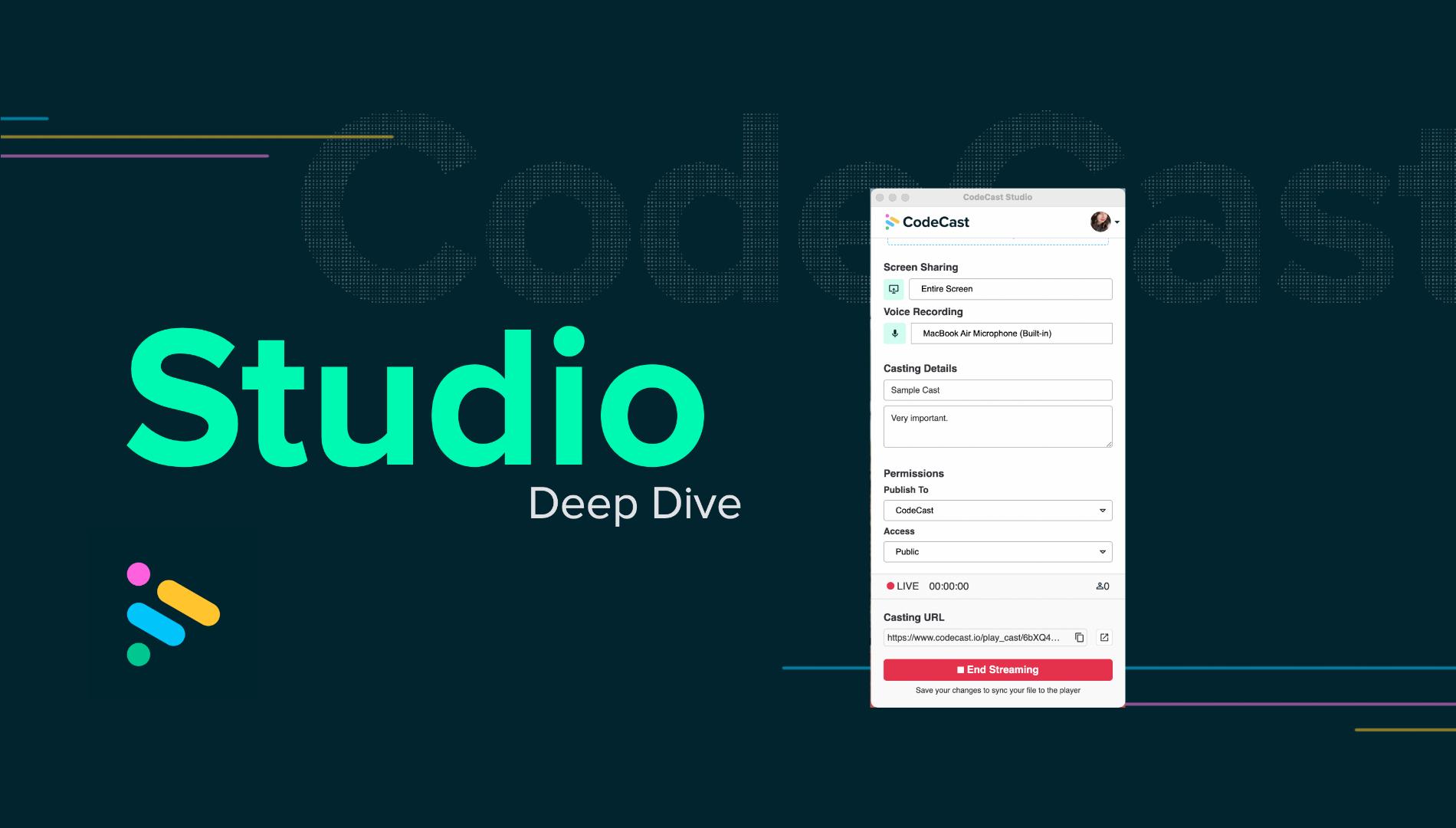 Studio Deep Dive