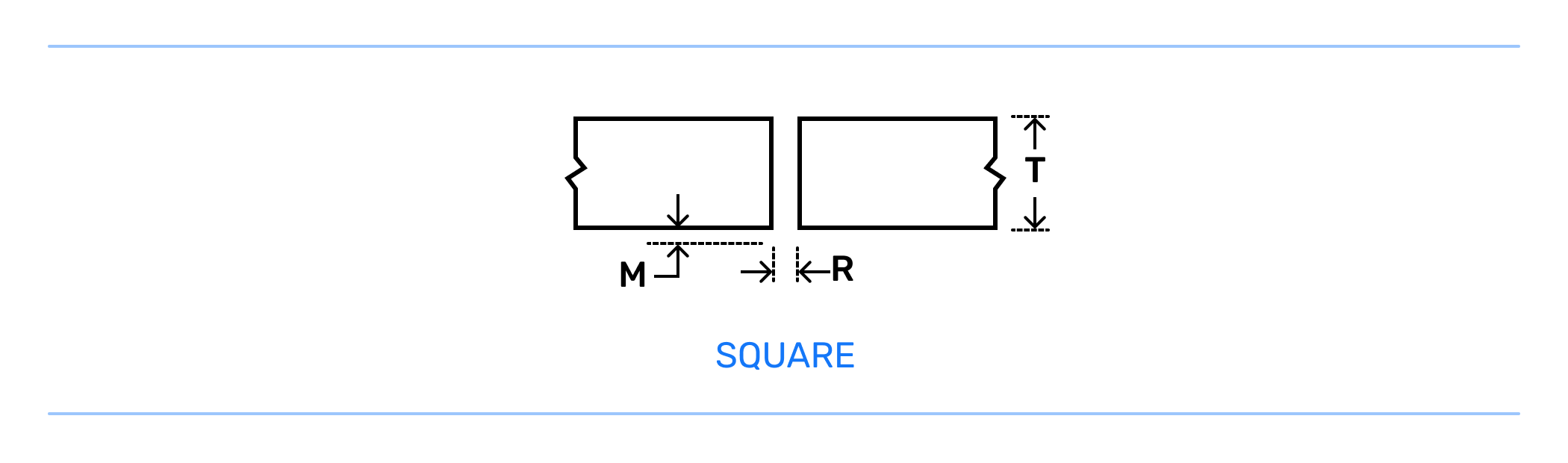 Square Groove Weld Joint