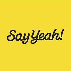 say yeah logo
