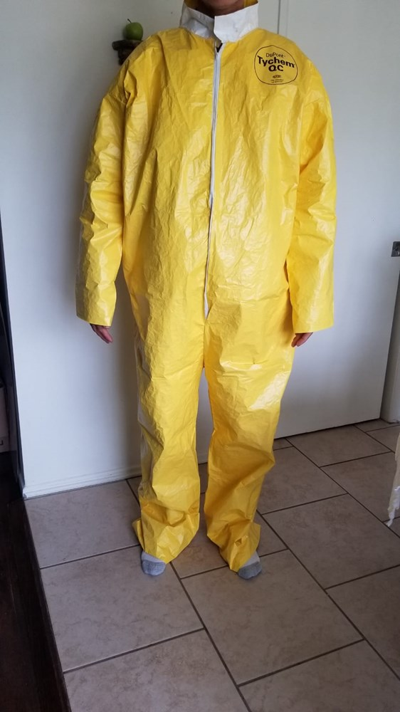 Coveralls - DuPont Tychem 2000 QC120S YL