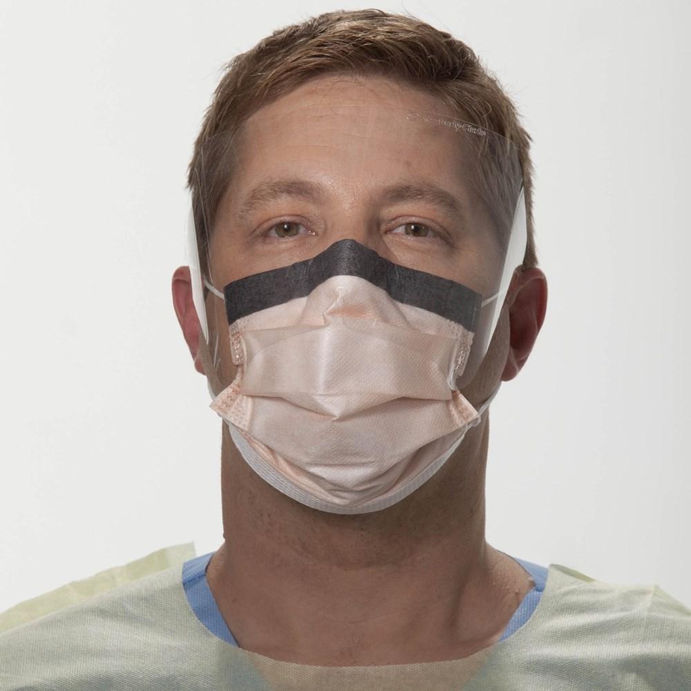 FLUIDSHIELD* Level 3 Fog-Free Procedure Mask, WrapAround Visor