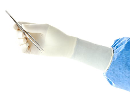 ENCORE Latex Textured (Sterile) Gloves - 50 Pair Box