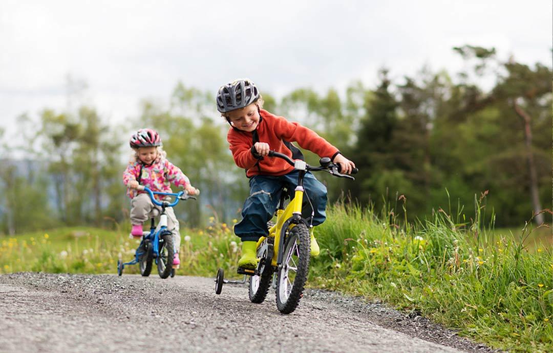 Brønnerødtoppen barn sykkel