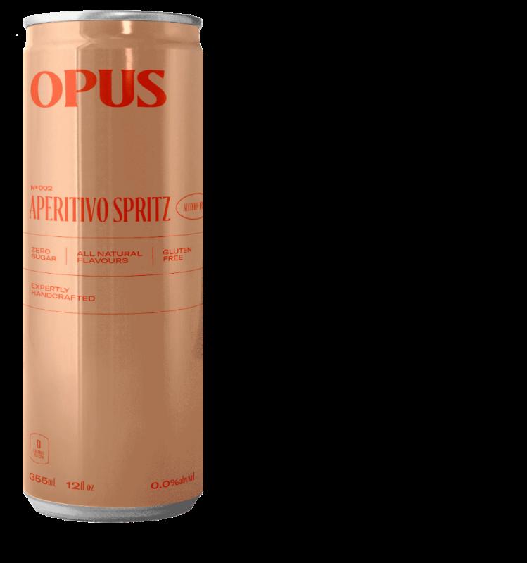 Opus Cocktails Aperitivo Spritz Alcohol Free