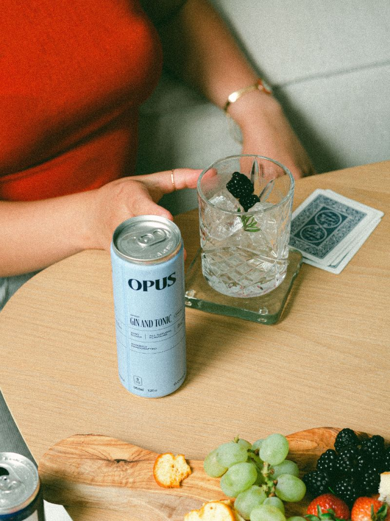 Opus Canned Cocktails