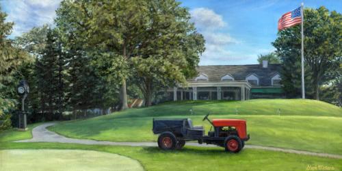 Arnie's Tractor at Latrobe