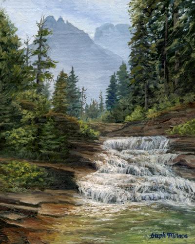 Mountain Cascade