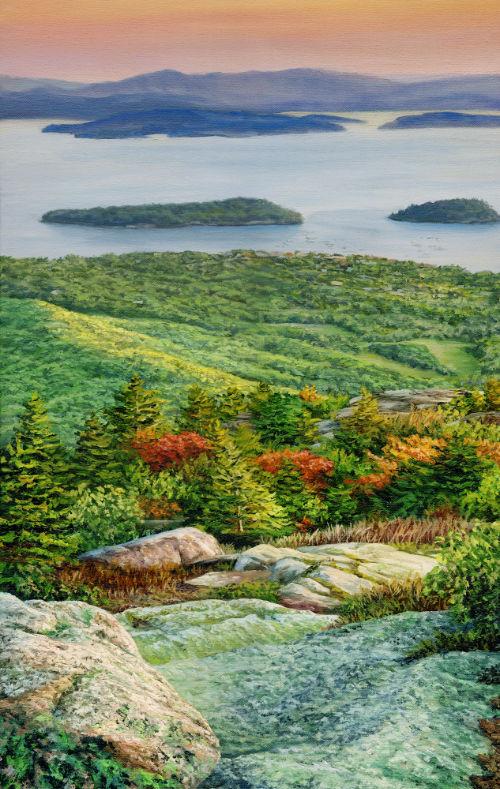Autumn Morning in Acadia