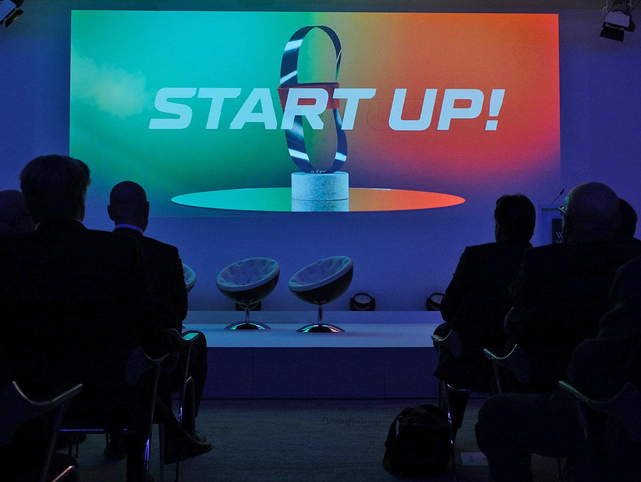 Vorführung des Startup-Teasers beim Wissenschaftspreis 2020