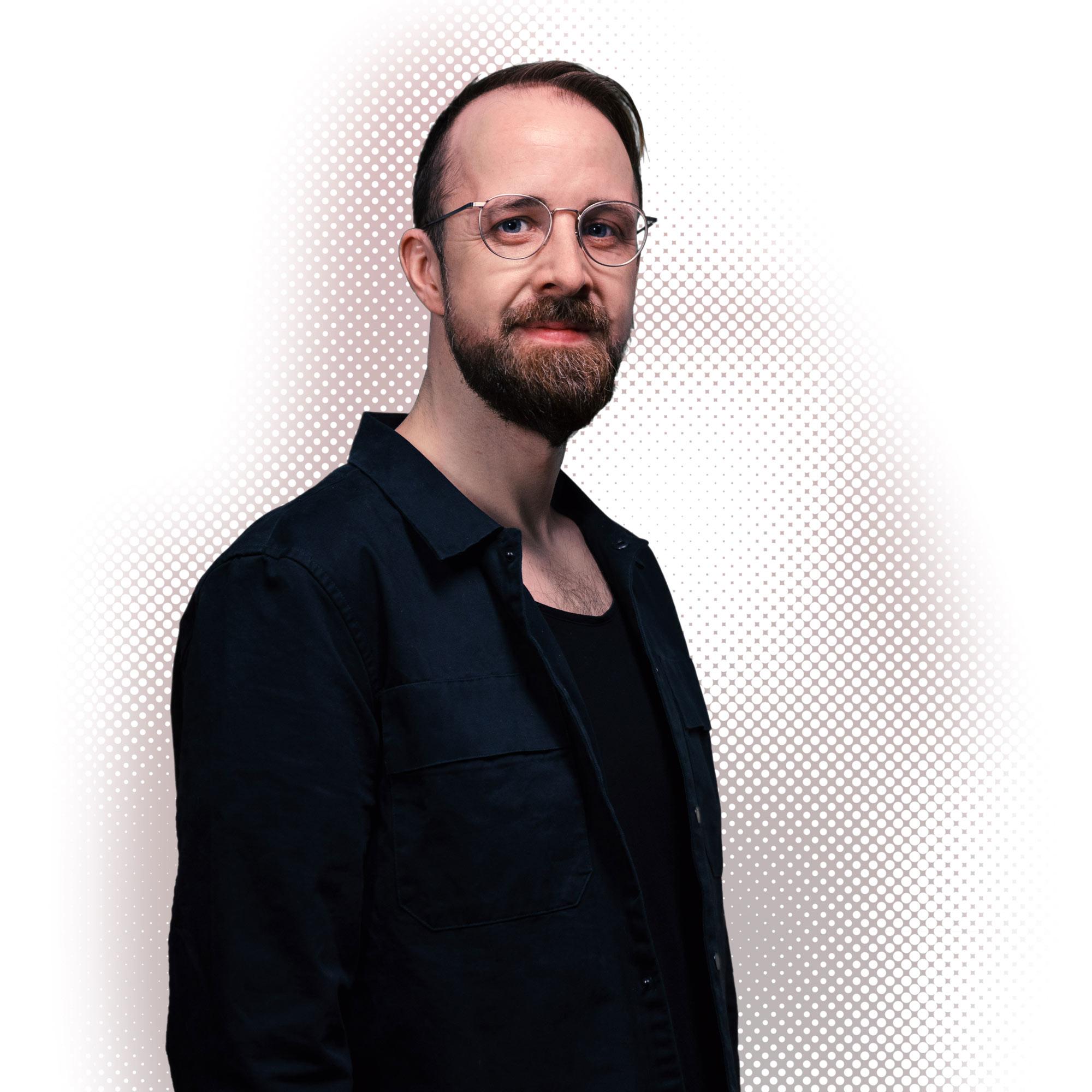 Porträtfoto von Jonas Kaminski