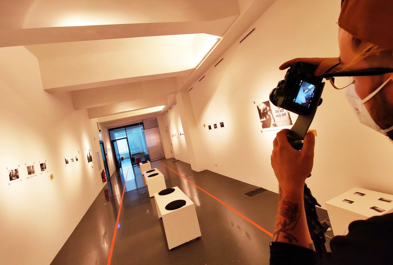 360 Grad Aufnahmen in einem Ausstellungsraum