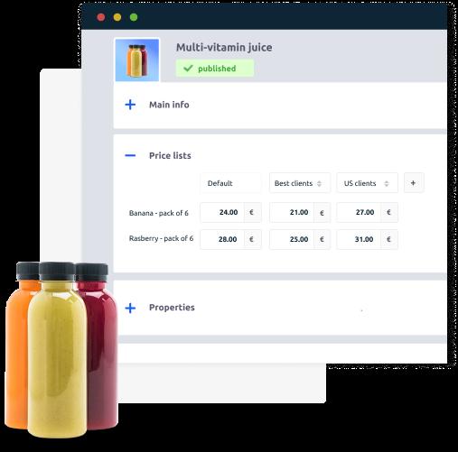 catalog management system in uppler b2b e-commerce solution