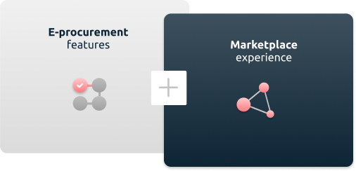 e-procurement software and b2b marketplace software combined