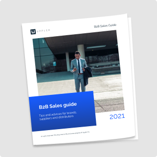 sales guide with a b2b e-commerce solution