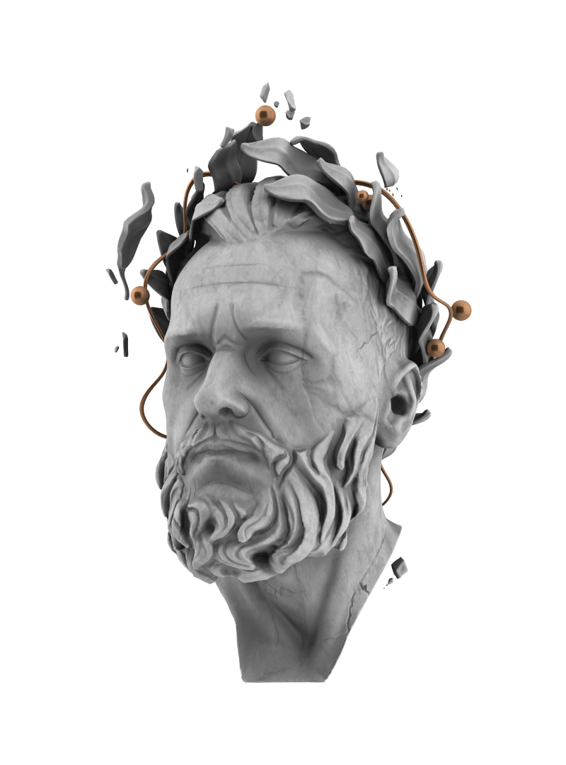 Legacy design 3d head