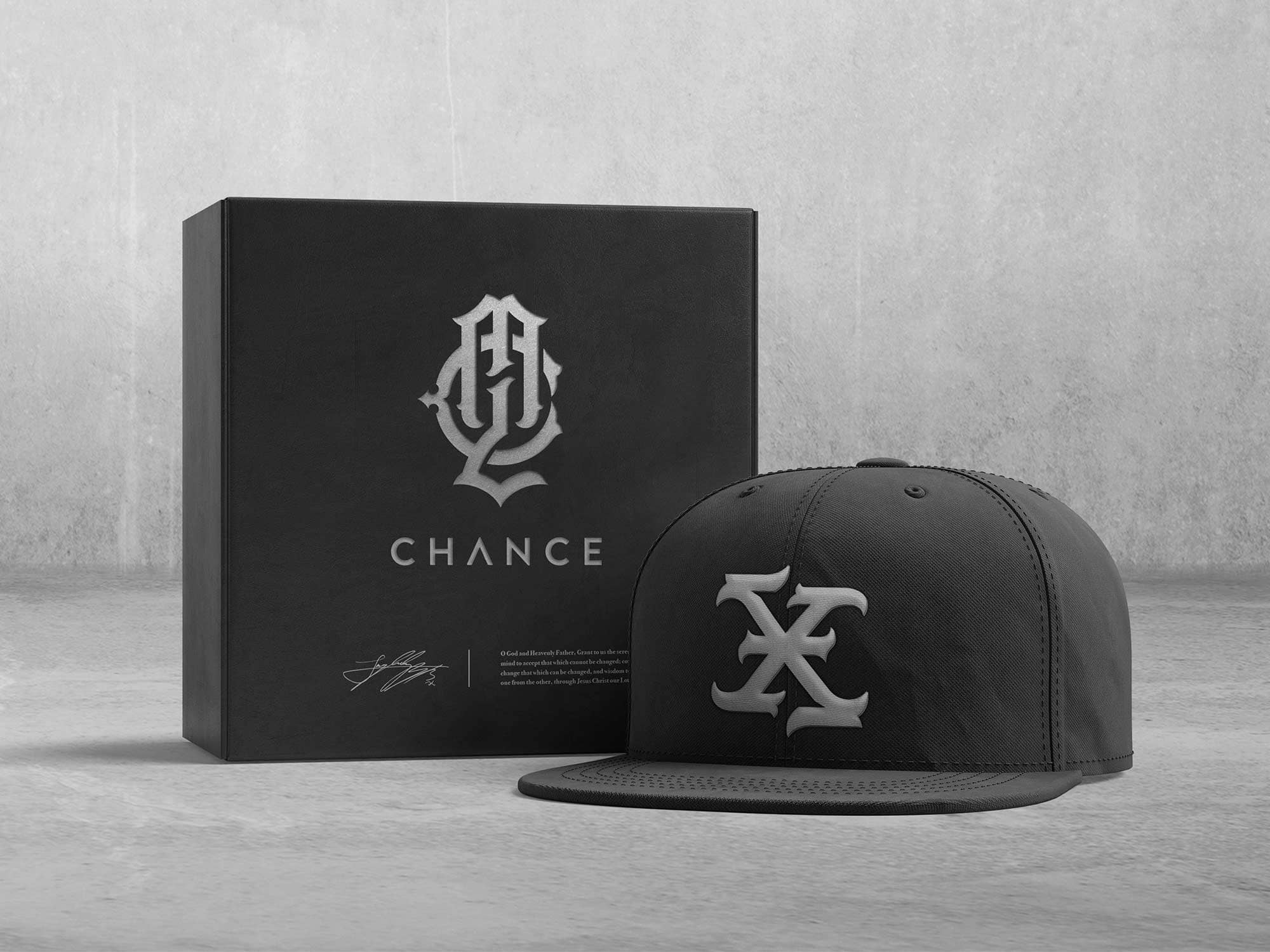 My Last Chance - Apparel Branding, Cap Logo And Packaging