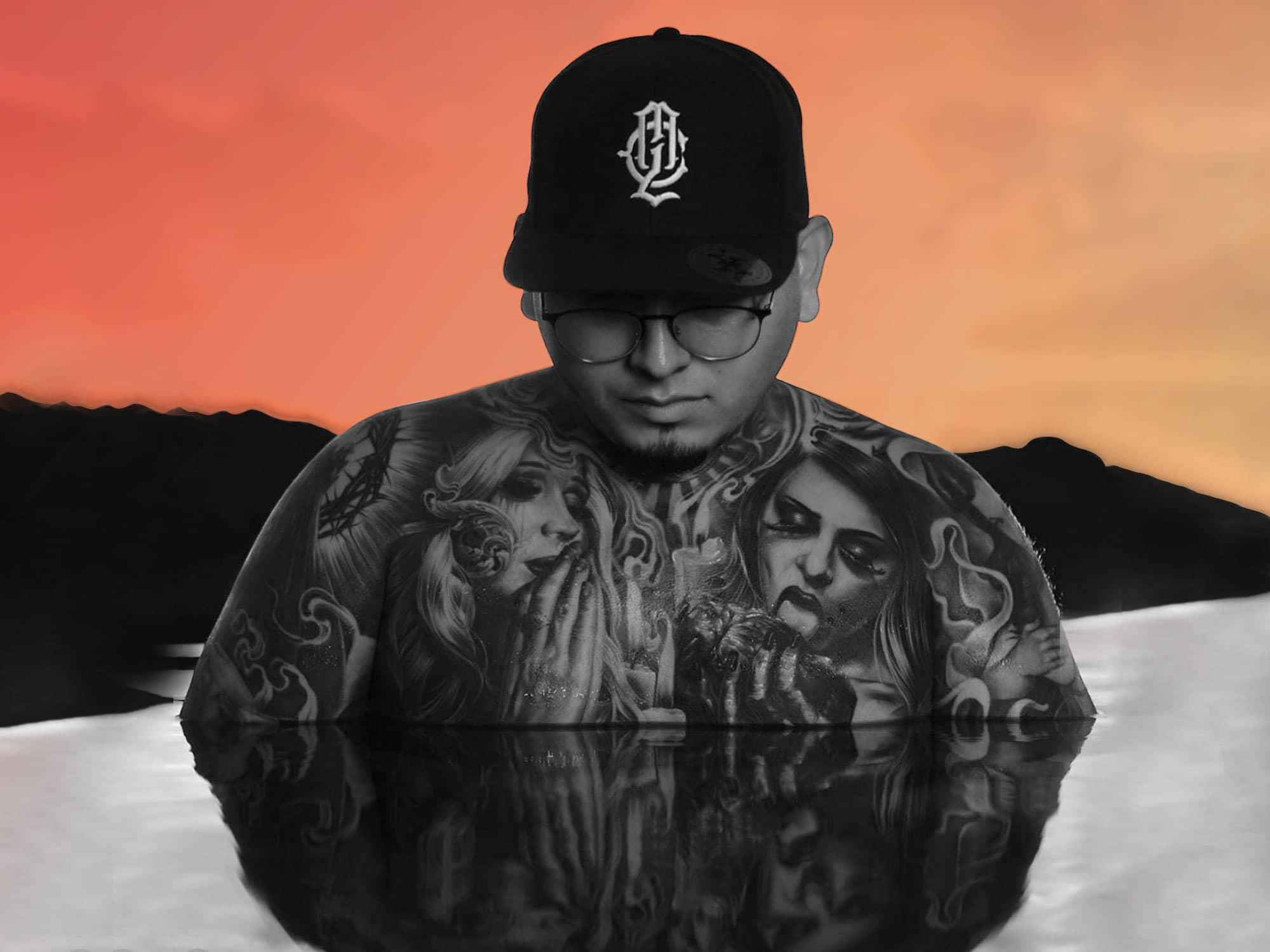 My Last Chance - Apparel Branding, Cap Logo, Model With Tattoos