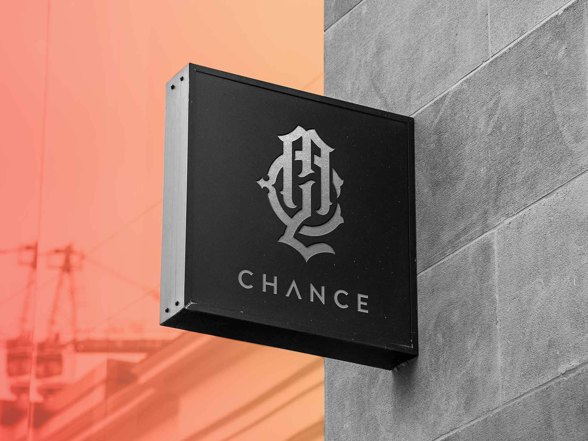 My Last Chance - Apparel Branding, shop sign