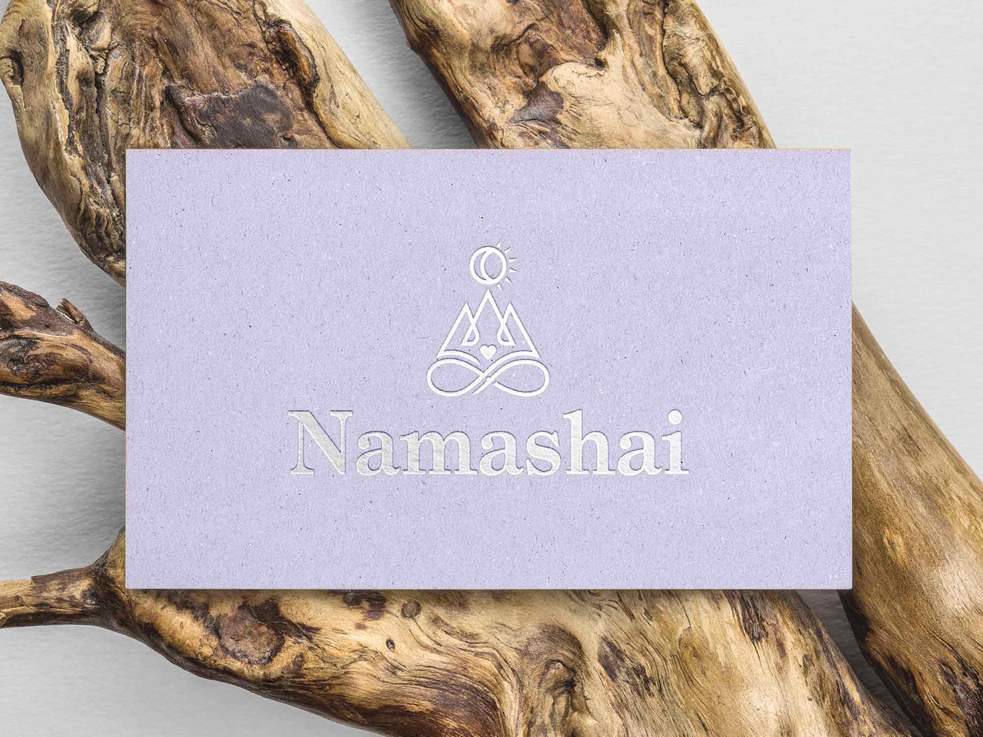Yoga Studio Branding: Business card