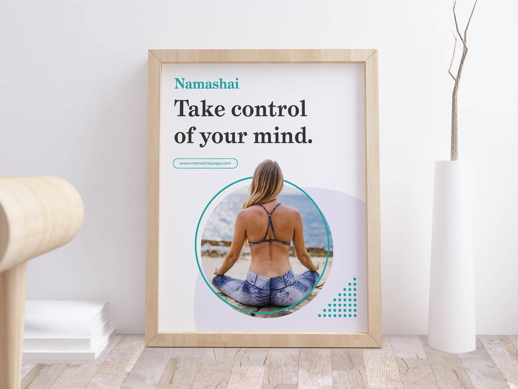 Yoga Studio Branding: Poster Advert