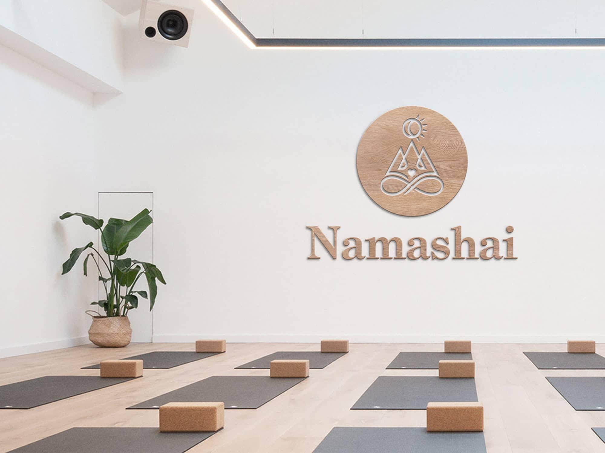 Yoga Studio Branding: Logo Sign