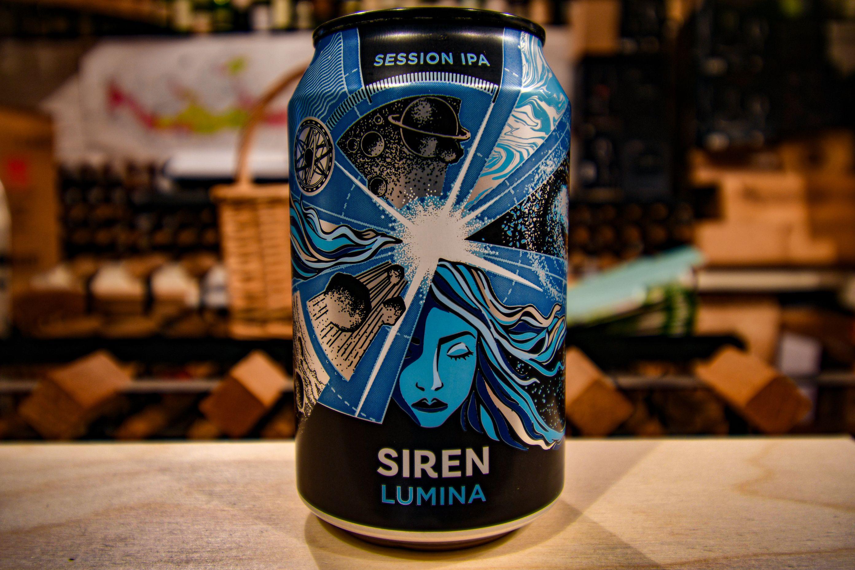 Siren Lumina IPA beer can