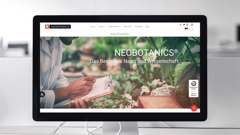 Neobotanics Slider