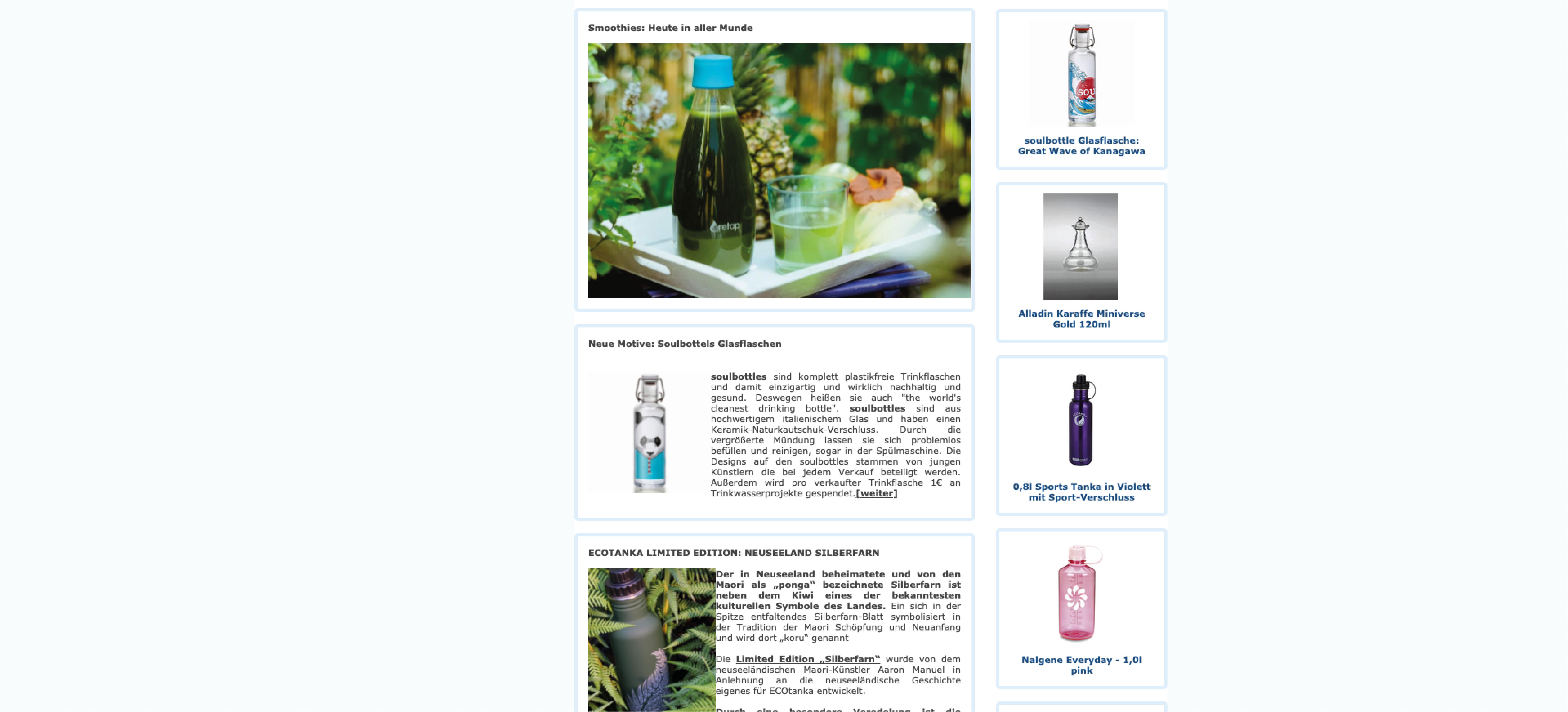 Alter Wasser Aktuell Shop  Produkte im alten Shopify