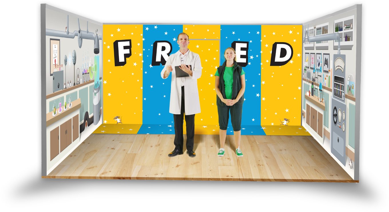 Fantastic Fred Experience inside mobile classroom image