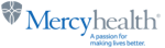 The logo of Mercy Health.