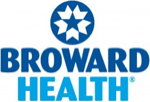 The logo of Broward Health.