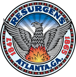 The logo of the City of Atlanta