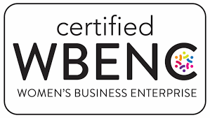 A logo representing Tryon Clear View Group's certification by the Women's Business Enterprise National Council.