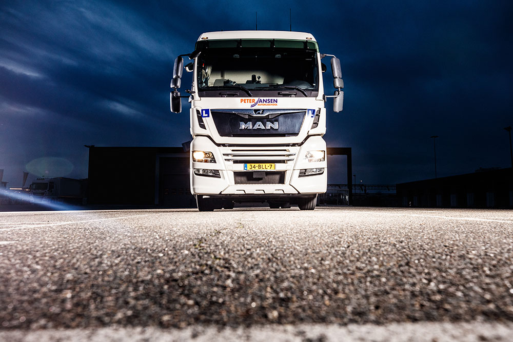 Vrachtwagen Peter Jansen