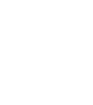 A white outline cube