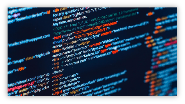 Website Design and Development code image