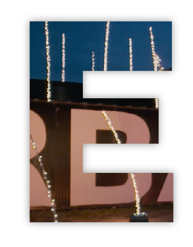 Cutout E showing a video prodcution image.