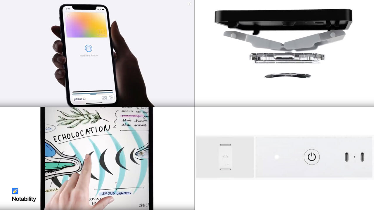 Apple advert imagery compilation.
