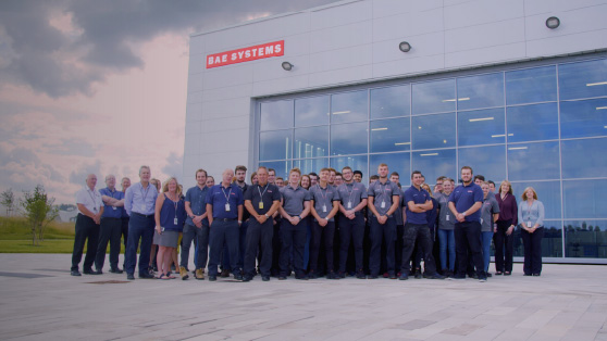 BAE Systems team photo