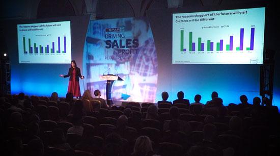 Keynote presentation at SPAR retailer conference