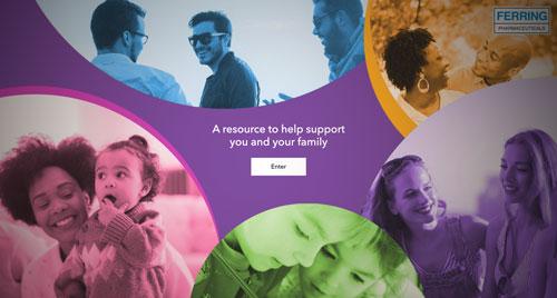 Ferring UK healthcare homepage