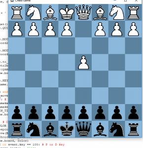 chess game python