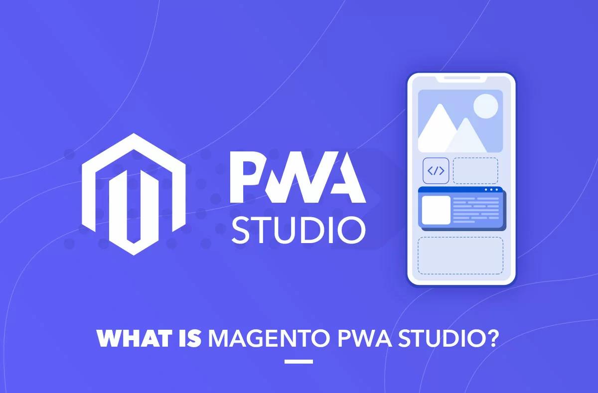 what is magento pwa illustration