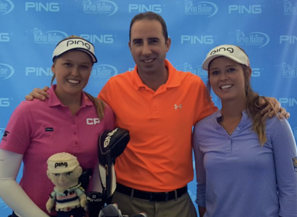 Brooke and Brittany Henderson with JP McAvoy