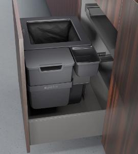 Küche Abfalleimer System