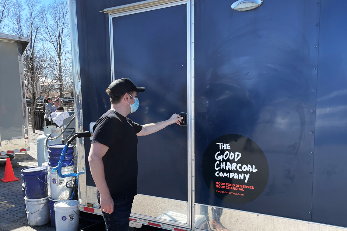 The Good Charcoal Company bbq event in Bentonville, Arkansas