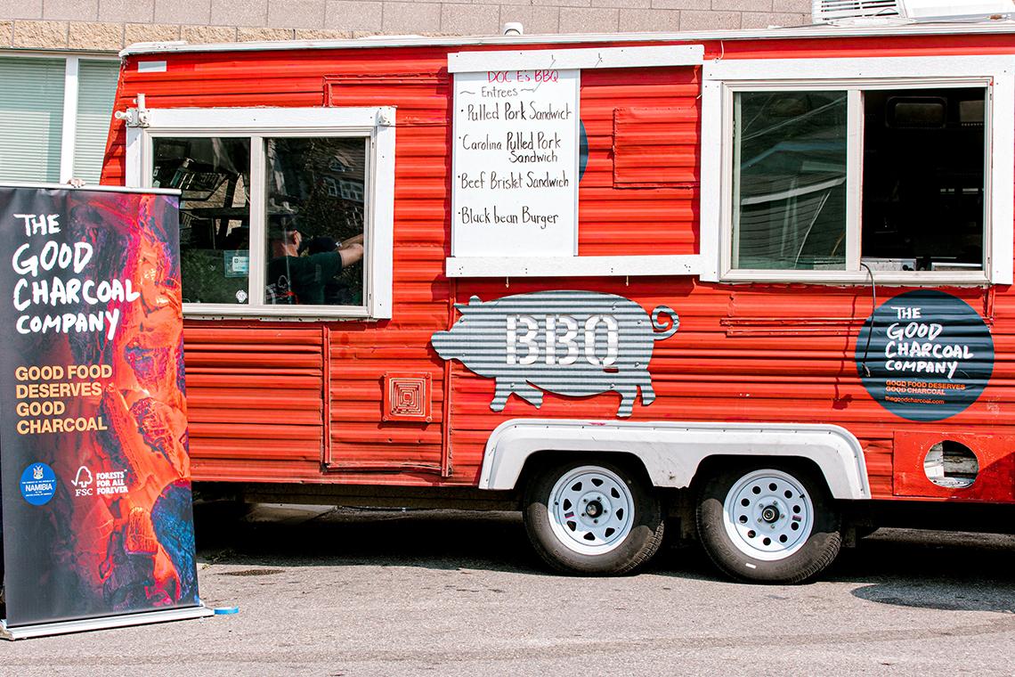 The Good Charcoal Company BBQ event in Minneapolis, Minnesota